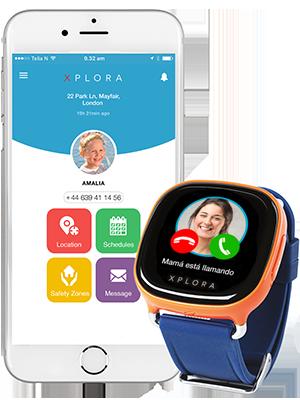 XPLORA Smartwatch para niños, SIM no incluida (NARANJA)