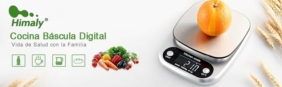 Báscula Digital Cocina