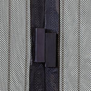 JAROLIFT Mosquitera Cortina magnética para puertas 160 x 230cm ...