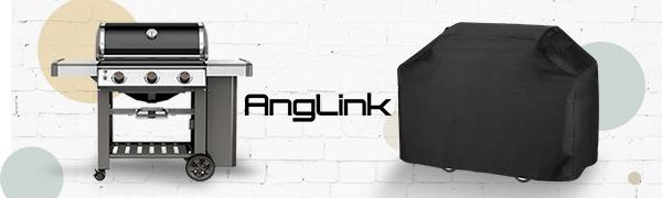 Anglink 2018 nueva mejorado barbacoa parrilla cubierta---Proporciona protección completa para su parrilla.