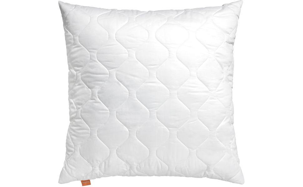 sleepling 190001 Almohada de Microfibra 80 x 80 cm, Blanco