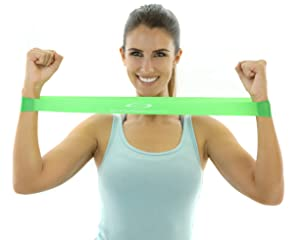 5 bandas para hacer ejercicio con diferentes grados de resistencia para mejorar fuerza y movilidad de manera continua, segura y progresiva.