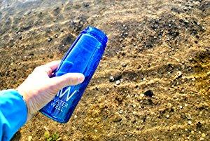 Botella de Agua de Viaje- Purifica el Agua al Eliminar 99.9% de ...