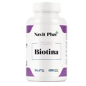 BIOTINA vitamina b pelo uñas ejercicio