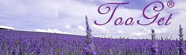 TooGet Fragante Flores Secas de Lavanda, Natural Brotes Secos de Lavanda, 100% Puro Lavanda Seca, Grado Superior - 225g