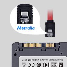 TCSUNBOW 2,5 Pulgadas de 60 GB 120 GB 240 GB SATA3 480GB con 256M ...
