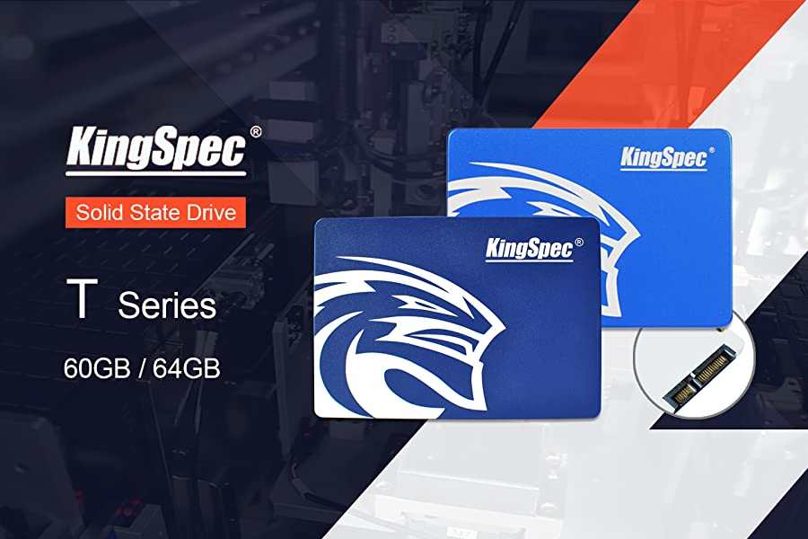 Kingspec T-60 Disco Duro sólido (60GB, Serial ATA III, 480 MB/s ...
