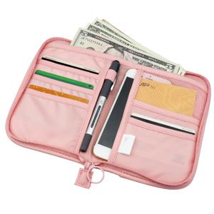 SPAHER Cartera para Pasaporte Cartera de Viaje para Documentos Porta de Pasaporte Portadocumentos de Viaje Unisex Organizador de documento Familiares ...