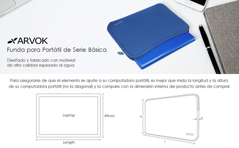 Funda para Portátil Arvok Basic de Neopreno