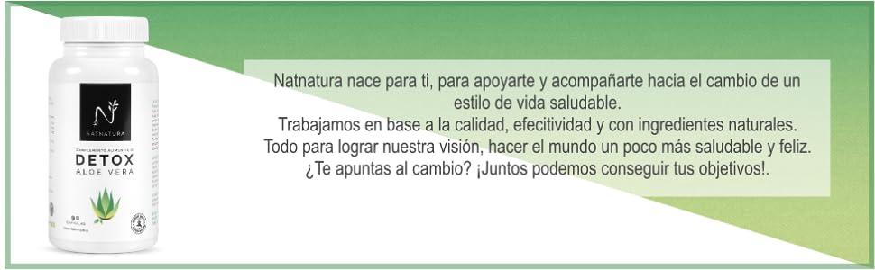 DETOX NATNATURA NATURAL DIURETICO LIMPIEZA DE COLON HIGADO