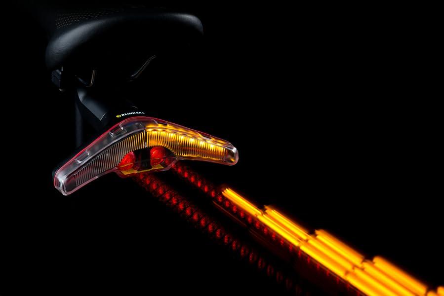 Blinker - Luz de Bicicleta Trasera - Intermitentes inalámbricos ...