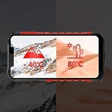 IP68 Smartphone Libre Resistente 4G Outdoor