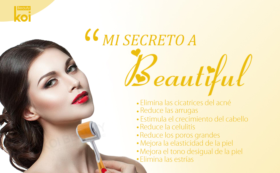 MI SECRETO A Beautiful- DERMA ROLLER