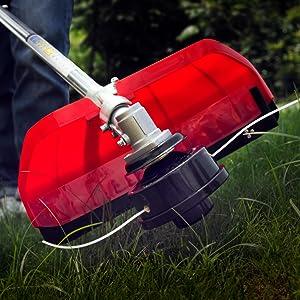 AOSOME Desbrozadora Gasolina 52cc, 2 Tiempos, 2.2kw, 3.0HP