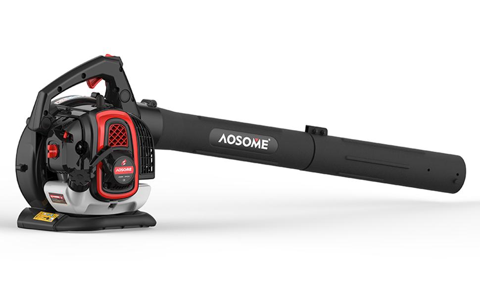 AOSOME ASBV3405 Soplador Aspirador y Triturador de Hojas Gasolina ...