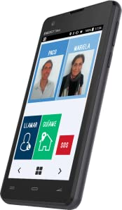 CerQana Smartphone Sencillo con localizador y pictogramas ...