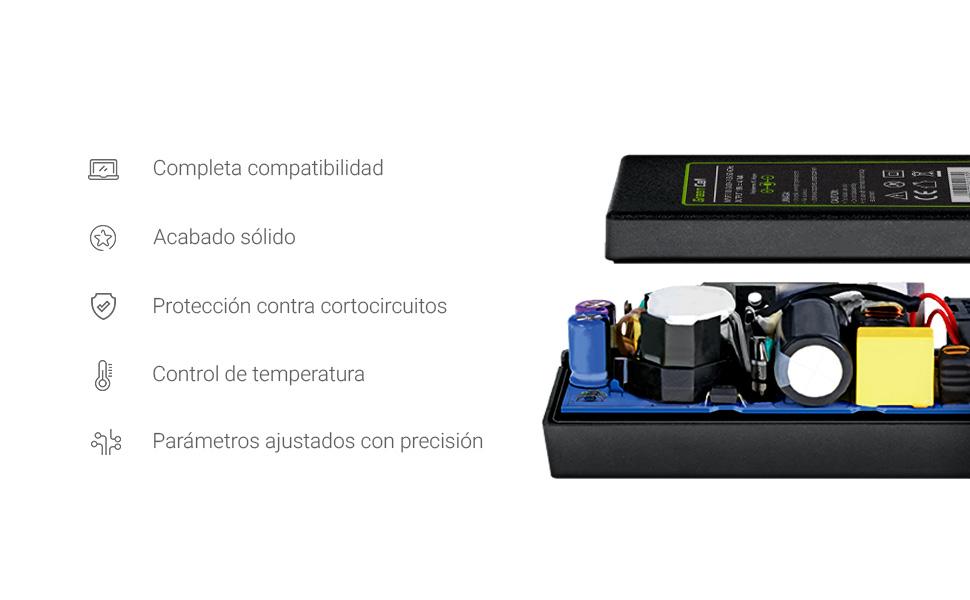 Green Cell ADLX65NCC3A ADLX65NDC3A Cargador para Ordenador Portátil Lenovo G50 G50-30 G50-45 G50-70 G50-80 G70 G500 G500S G505 G505s G700 G710 B50 ...