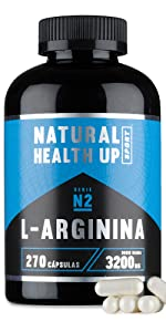 L-arginina 3,2 gramos dosis pura diaria – Suplemento ...
