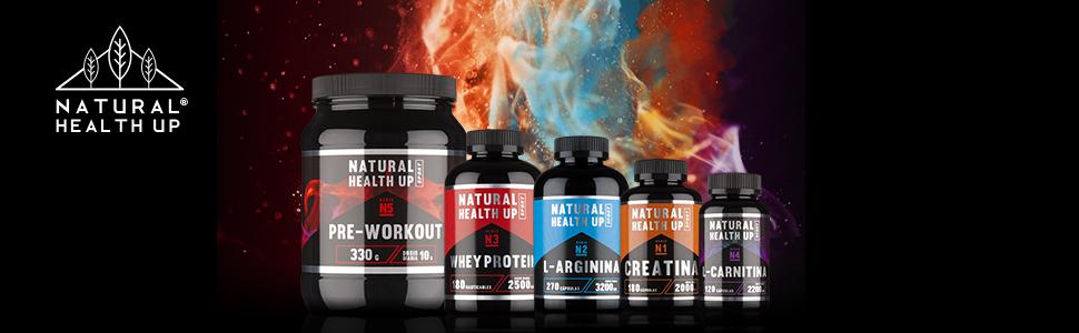 L-Arginina 3,2 gramos dosis pura diaria – Suplemento deportivo para la mejora de la masa muscular – Extra de vitamina B6 para el organismo – (270 ...