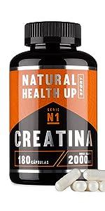 Creatina monohidratada para aumentar la masa muscular y el ...