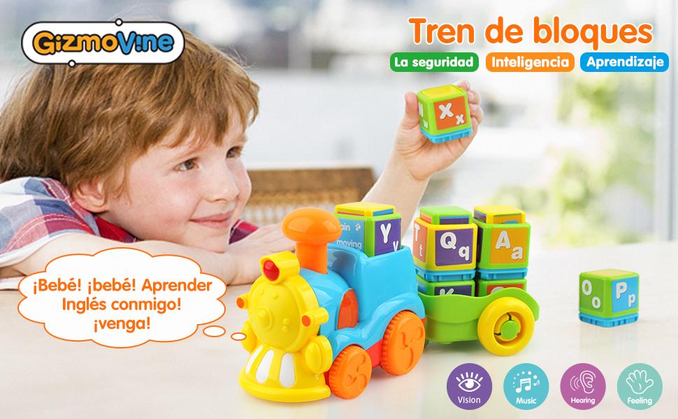 GizmoVine Juguetes Bebes Juguete De Construcción del Tren del ...