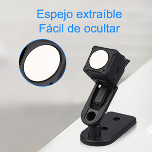 Mini Camara Espia Oculta Videocámara, NIYPS 1080P HD Cámara Vigilancia Portátil Secreta Compacta con Detector de Movimiento IR Visión Nocturna, Camaras de Seguridad Pequeña Interior/Exterior: Amazon.es: Bricolaje y herramientas