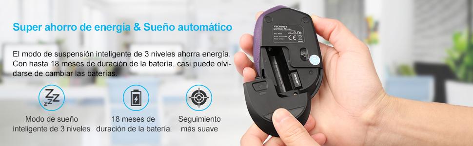 El mini ratón inalámbrico M005 está diseñado para llevarlo en el bolsillo ya que es de un diseño muy pequeño. Además, la instalación consiste simplemente en ...