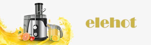 ELEHOT Licuadoras para Verduras y Frutas con 2 Fuerzas 700-800W ...