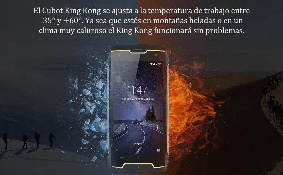 CUBOT King Kong 3G Dual SIM Smartphone Libre IP68 Smartphone 5.0 ...