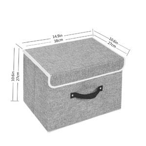 Tamaño de visualización del artículo: 14,9 * 10,6 * 10,6 pulgadas, hace que este artículo sea adecuado para estantería o armario de cubo estándar