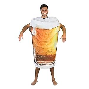 Bodysocks® Disfraz de Cerveza Adulto: Amazon.es: Juguetes y juegos