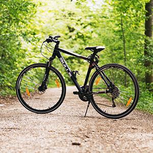 Hecho para durar, Slopehill cubierta de la bicicleta utiliza 210D tela oxford de alta calidad. Sus dimensiones (87x43x37