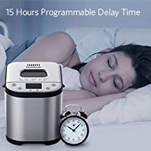 Panificadora Automática 710W Panificadora programable, Homever ...