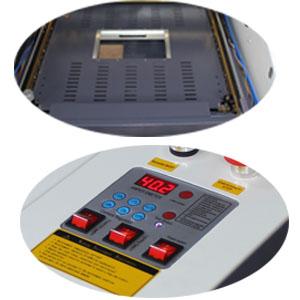 TEN-HIGH 400x400mm 15.7vx15.7 Inches 40W 220V Crafts máquina de Grabado láser con Puerto USB, versión estándar, láser Máquina de Grabado, Cortador, Engraving Cutting Machine, DIY: Amazon.es: Bricolaje y herramientas