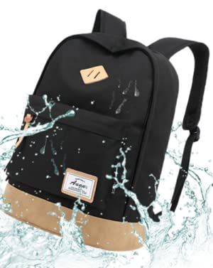 Ligero y cómodo. AUGUR Classic Laptop Backpack está hecho de poliéster de calidad superior, que es resistente a la contracción y al estiramiento, ...