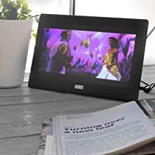 "August Televisión Portátil TDT HD 10"" DVB-T & DVB-T2 DA100D ..."