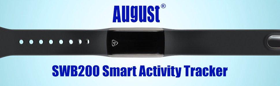 August SWB200 Pulsera de Actividad Fitness Tracker con APP ...