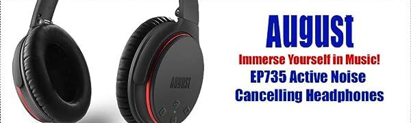 August EP735 Auriculares de Cancelación de Ruido
