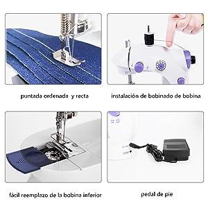 portatil mquina coser