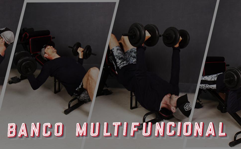 Es perfecto para entrenar tus abdominales, espalda y brazos con eficacia.