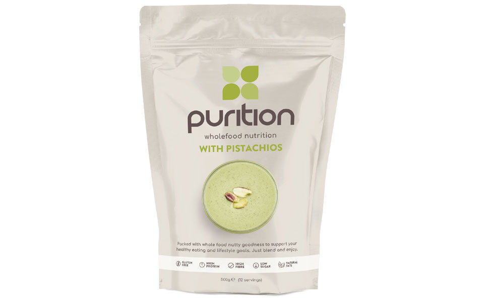 Purition Batido de proteínas de Pistacho (500g). Batido para el ...
