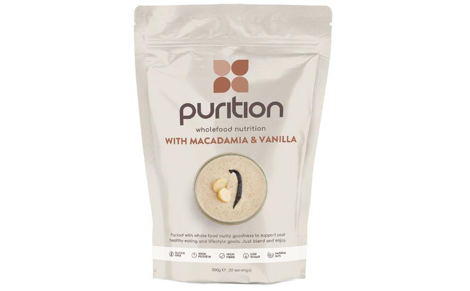Purition Batido de proteínas de Nueces de Macadamia & Vainilla ...