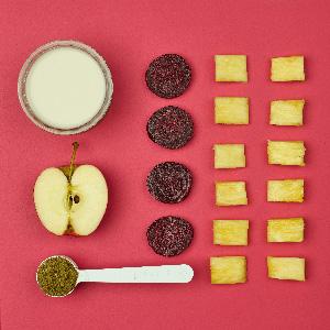 Batido de remolacha y manzana