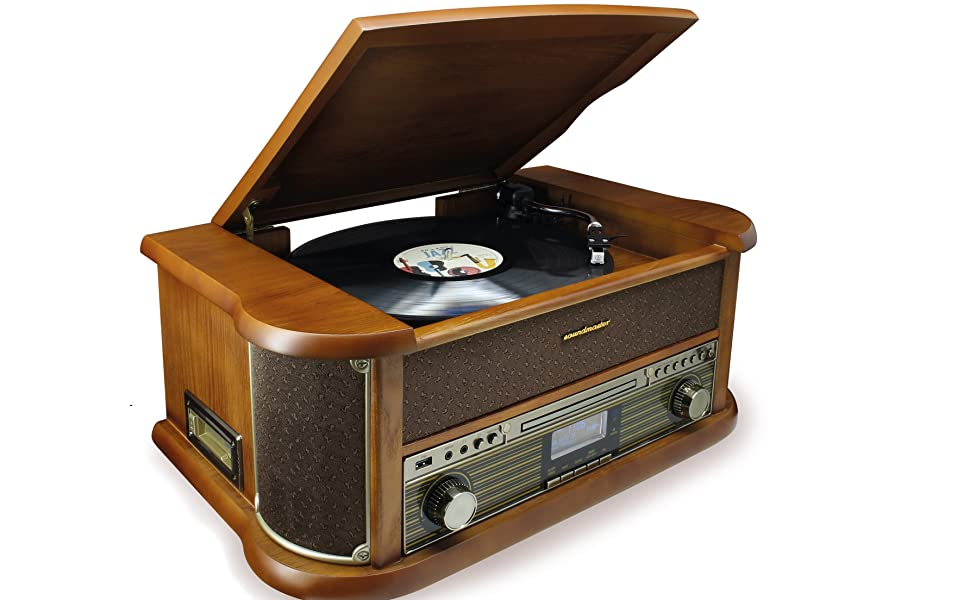 Soundmaster NR546BR Radio Digital estéreo Dab+/FM Vintage ...