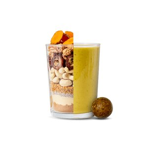foodspring Orgánica Smoothie Balls, Frutos secos, 5 x 25g, Tu ...