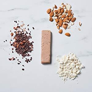 Rica en proteínas y en fibra