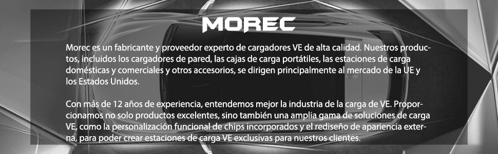 Morec Portable EV Cargador de Cable Tipo 2 (estándar ...