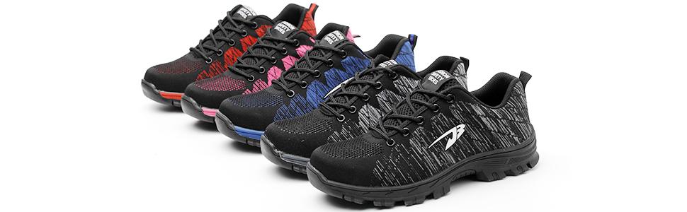 Si está buscando unos zapatos de seguridad realmente versátiles, estos zapatos de seguridad COOU son para usted!