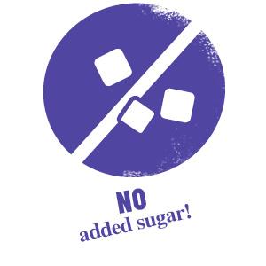 sin azúcar añadido