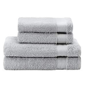 Material: Tejido 100% algodón, 500g/m2. Hechas de algodón esponjoso, estas toallas son gruesas y transpirables.